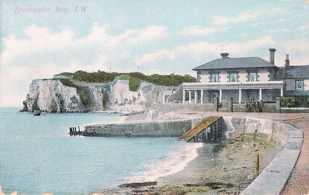 Freshwater Bay, Albion Hotel