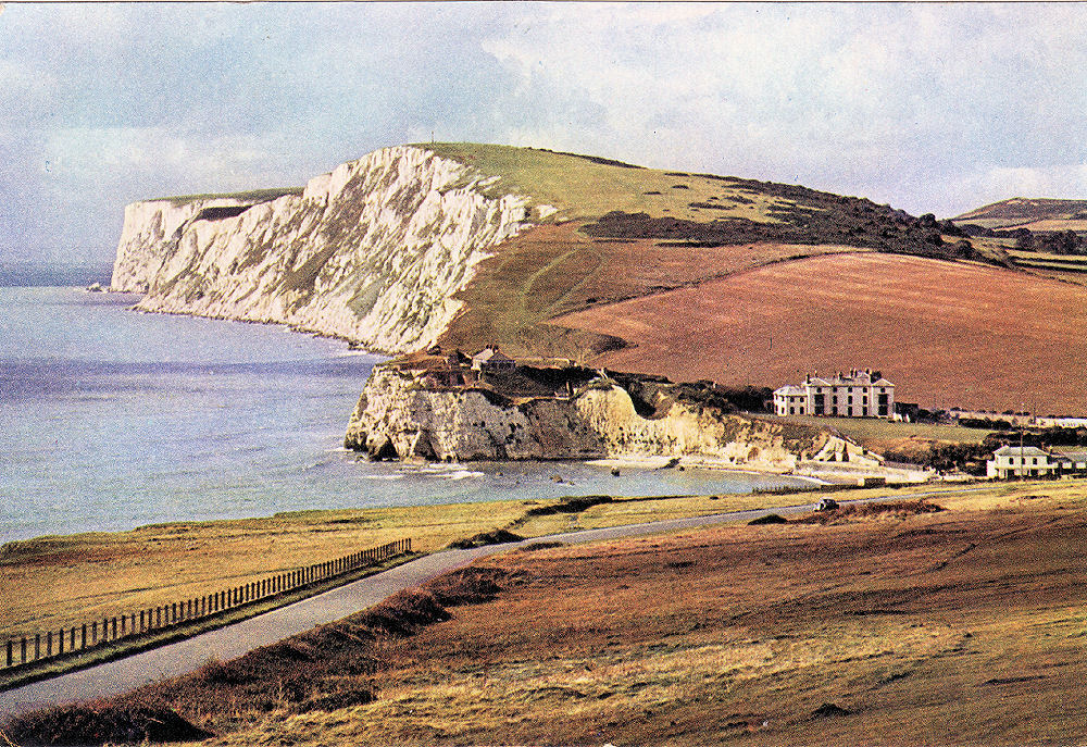 The classic view of Freshwater Bay