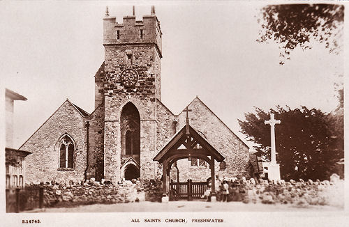 Freshwater Church about 1930