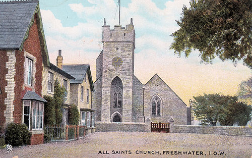 All Saints Church, Freshwater