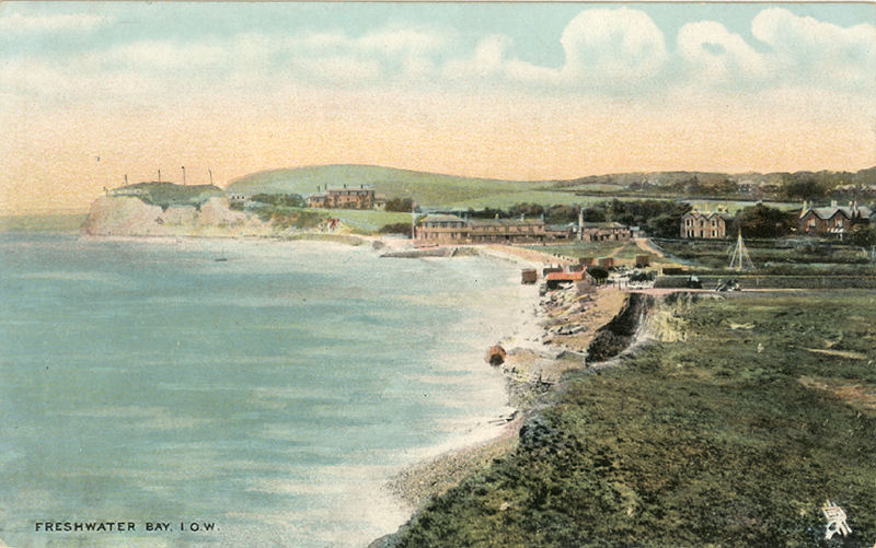 View across Freshwater Bay