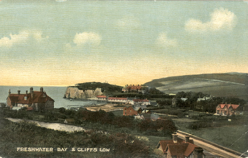 Freshwater Bay and Cliffs